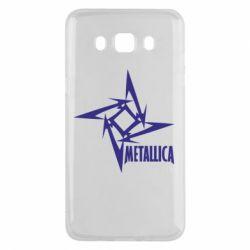 Чехол для Samsung J5 2016 Metallica Logotype - FatLine
