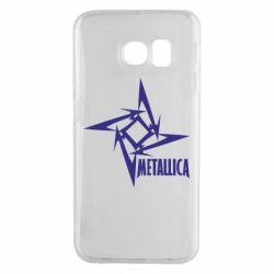 Чохол для Samsung S6 EDGE Логотип Metallica
