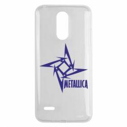 Чехол для LG K8 2017 Metallica Logotype - FatLine
