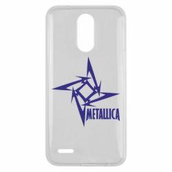 Чехол для LG K10 2017 Metallica Logotype - FatLine