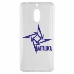Чехол для Nokia 6 Metallica Logotype - FatLine