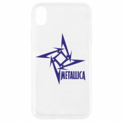 Чехол для iPhone XR Metallica Logotype - FatLine