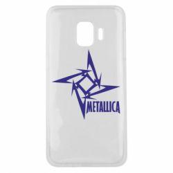 Чохол для Samsung J2 Core Логотип Metallica