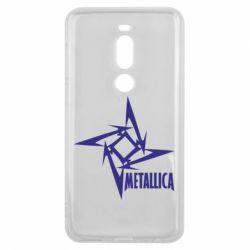 Чехол для Meizu V8 Pro Metallica Logotype - FatLine