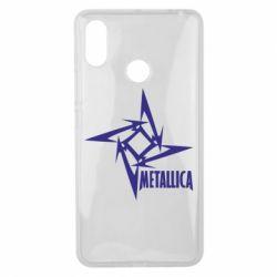 Чехол для Xiaomi Mi Max 3 Metallica Logotype - FatLine