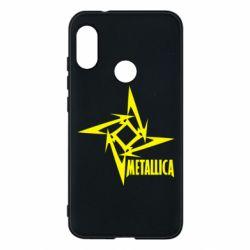 Чехол для Mi A2 Lite Metallica Logotype - FatLine