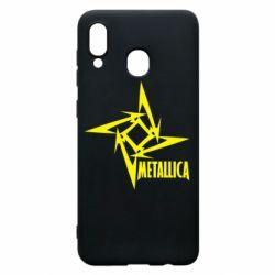 Чохол для Samsung A30 Логотип Metallica