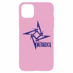Чехол для iPhone 11 Pro Metallica Logotype