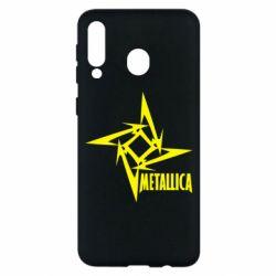 Чохол для Samsung M30 Логотип Metallica