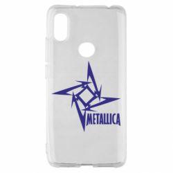 Чохол для Xiaomi Redmi S2 Логотип Metallica