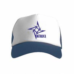 Дитяча кепка-тракер Логотип Metallica