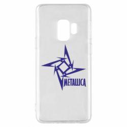 Чехол для Samsung S9 Metallica Logotype - FatLine