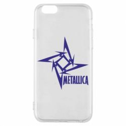 Чехол для iPhone 6/6S Metallica Logotype - FatLine