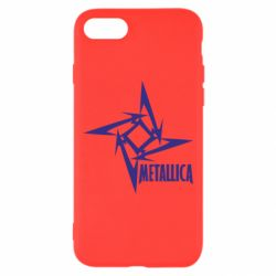 Чехол для iPhone 7 Metallica Logotype - FatLine