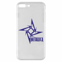 Чехол для iPhone 7 Plus Metallica Logotype - FatLine