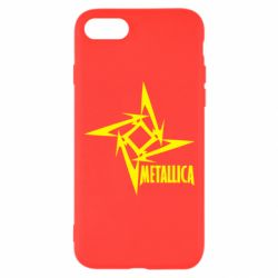 Чехол для iPhone 8 Metallica Logotype - FatLine