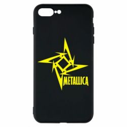 Чехол для iPhone 8 Plus Metallica Logotype