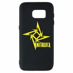 Чехол для Samsung S7 Metallica Logotype - FatLine