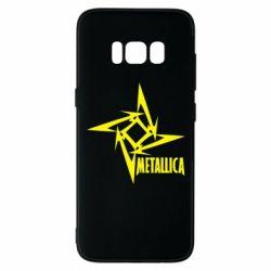 Чехол для Samsung S8 Metallica Logotype - FatLine