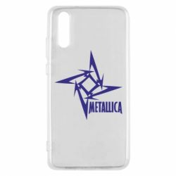 Чехол для Huawei P20 Metallica Logotype - FatLine