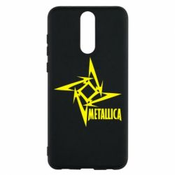 Чехол для Huawei Mate 10 Lite Metallica Logotype - FatLine