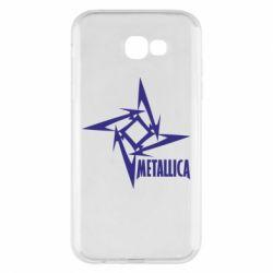 Чехол для Samsung A7 2017 Metallica Logotype - FatLine