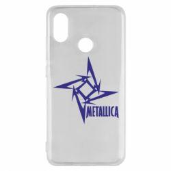Чехол для Xiaomi Mi8 Metallica Logotype - FatLine