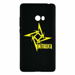 Чехол для Xiaomi Mi Note 2 Metallica Logotype - FatLine