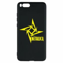 Чехол для Xiaomi Mi Note 3 Metallica Logotype - FatLine