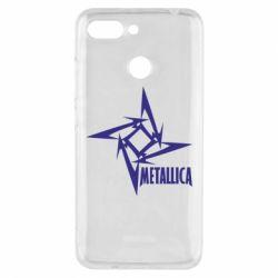 Чехол для Xiaomi Redmi 6 Metallica Logotype - FatLine