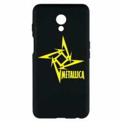 Чехол для Meizu M6s Metallica Logotype - FatLine