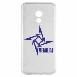 Чехол для Meizu Pro 6 Metallica Logotype - FatLine