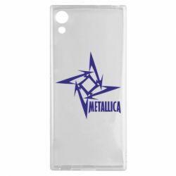 Чехол для Sony Xperia XA1 Metallica Logotype - FatLine