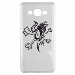 Чехол для Samsung A5 2015 Metallica Scary Guy