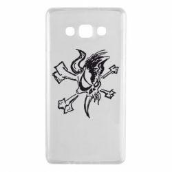 Чехол для Samsung A7 2015 Metallica Scary Guy
