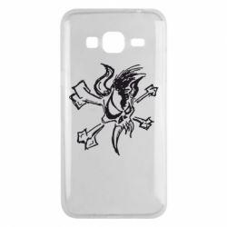 Чохол для Samsung J3 2016 Metallica Страшний Хлопець