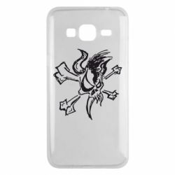 Чехол для Samsung J3 2016 Metallica Scary Guy