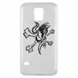 Чехол для Samsung S5 Metallica Scary Guy