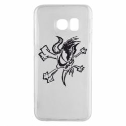 Чехол для Samsung S6 EDGE Metallica Scary Guy