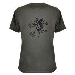 Камуфляжная футболка Metallica Scary Guy - FatLine