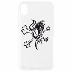 Чехол для iPhone XR Metallica Scary Guy