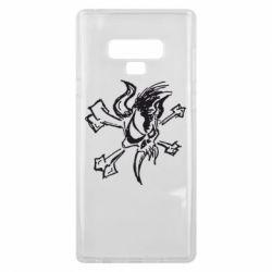 Чехол для Samsung Note 9 Metallica Scary Guy