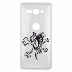 Чехол для Sony Xperia XZ2 Compact Metallica Scary Guy - FatLine