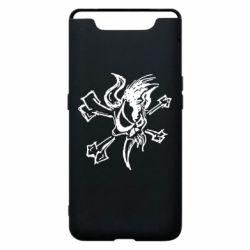 Чехол для Samsung A80 Metallica Scary Guy
