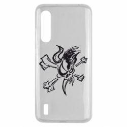 Чехол для Xiaomi Mi9 Lite Metallica Scary Guy