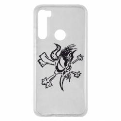 Чехол для Xiaomi Redmi Note 8 Metallica Scary Guy