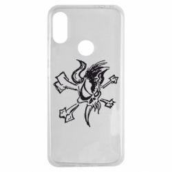 Чехол для Xiaomi Redmi Note 7 Metallica Scary Guy