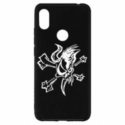 Чехол для Xiaomi Redmi S2 Metallica Scary Guy