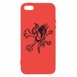 Чехол для iPhone5/5S/SE Metallica Scary Guy