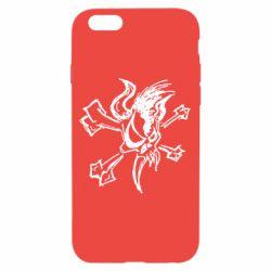 Чехол для iPhone 6/6S Metallica Scary Guy - FatLine
